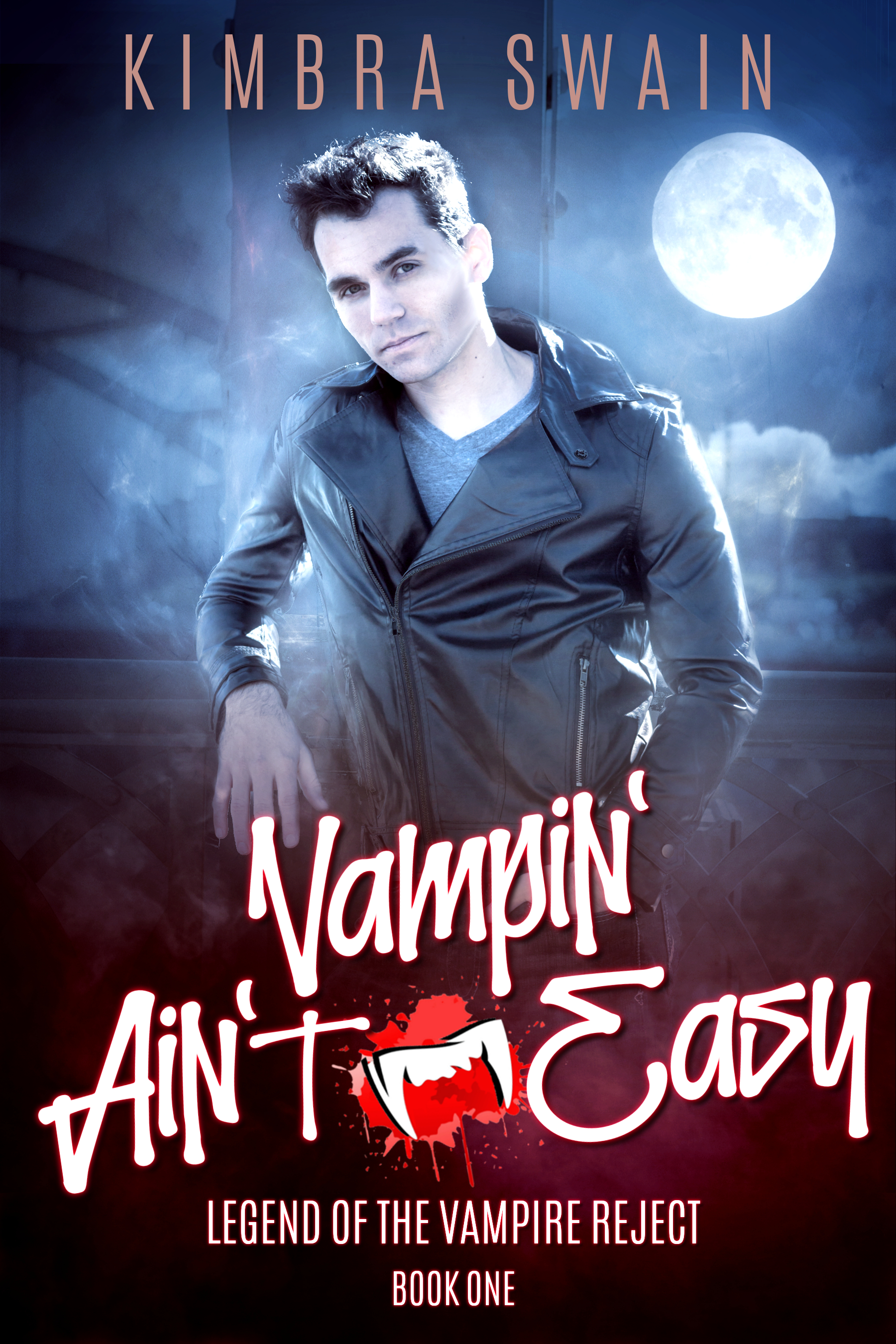 [PDF] [EPUB] Vampin' Ain't Easy (Legend of the Vampire Reject, #1) Download by Kimbra Swain